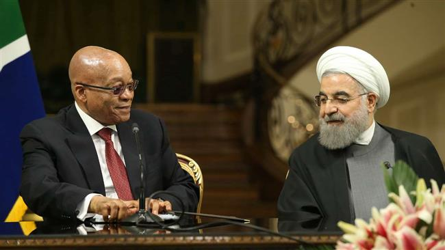 Jacob Zuma wants trade with Iran to rise to $8bn