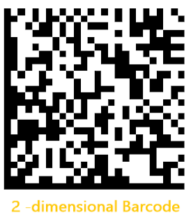 How is the QR code different from the bar code?