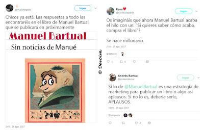 Teoría de la posible estrategia de marketing de Manuel Bartual