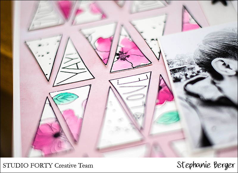 Stephanie Berger - Scrapbooking - Layout - Studio Forty