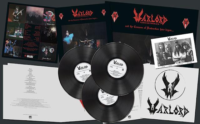 """Το τραγούδι των Warlord """"Lost And Lonely Days"""" από την επανακυκλοφορία του album """"And the Cannons of Destruction Have Begun..."""""""