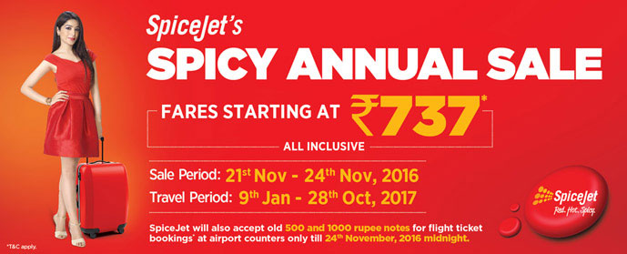 FareHawker Com®: #UltimateTravelJockey: sale fare for spice jet
