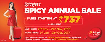 Spice Jet sale image