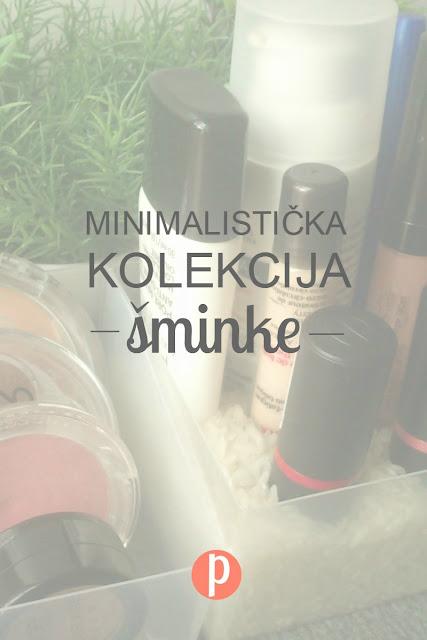 Minimalistička kolekcija šminke