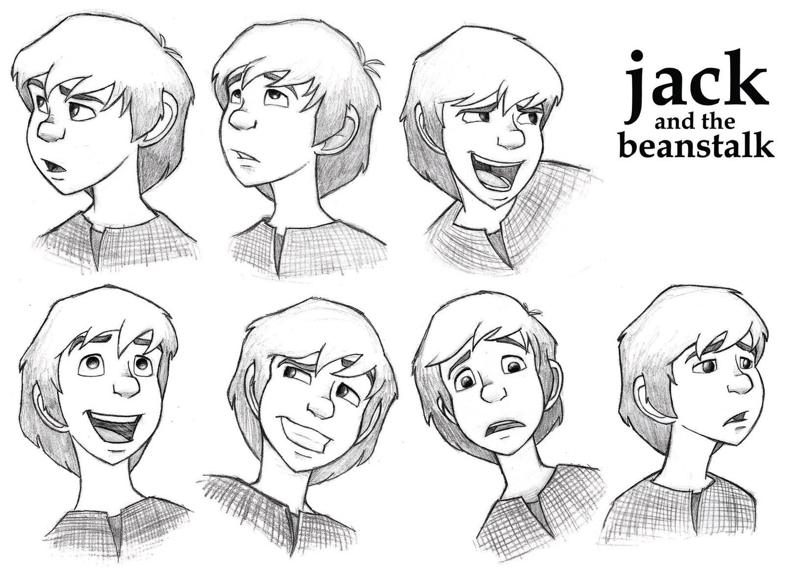 Jeremy Evans Illustration Jack And The Beanstalk A