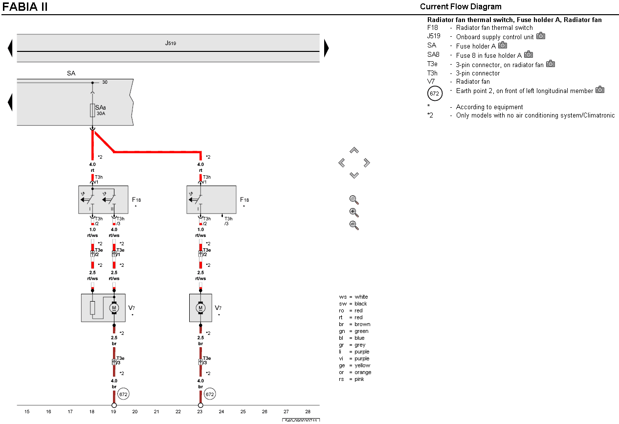 Skoda Climatronic Wiring Diagram