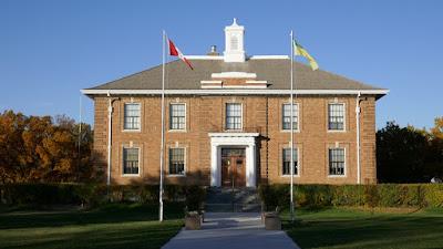 Saskatchewan, Shaunavon, government, brick, historic