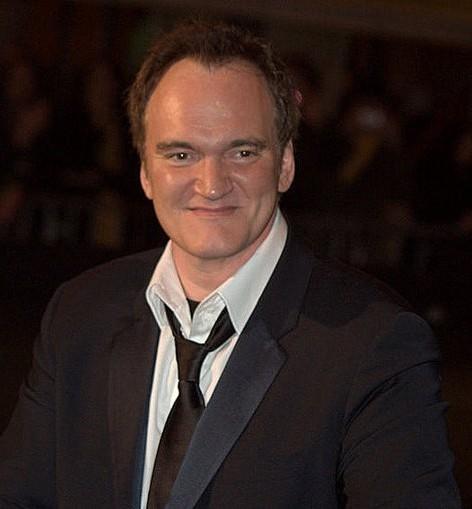 Imagen de Quentin Tarantino en los Oscars de la Academia, 2011