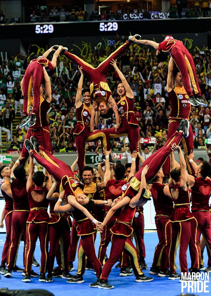 UP Pep Squad skips 2016 UAAP Cheerdance Competition (CDC)