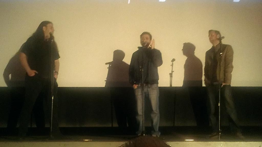 Mitch Davis, Aharon Keshales, and Navot Papushado
