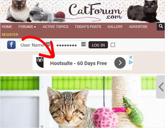 Contoh iklan Google AdSense