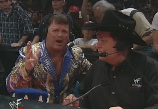 WWE / WWF Over the Edge 1999 - Jerry Lawler & Jim Ross