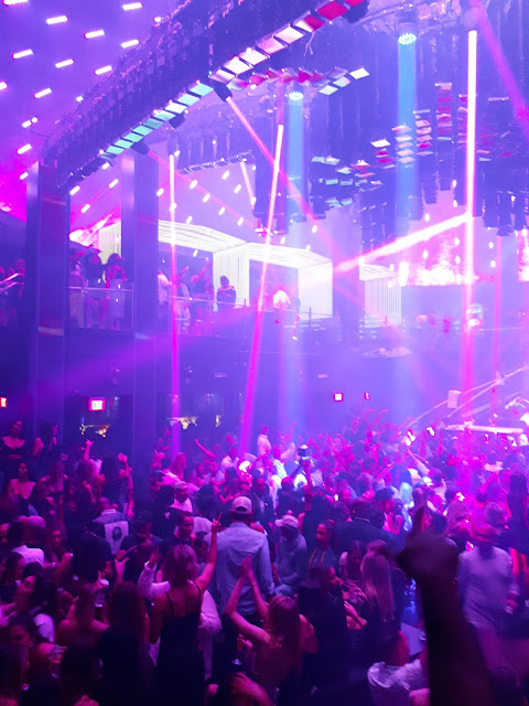 Interior de la Discoteca Liv Miami