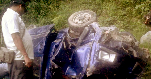 12 year old boy and 2 people died in an accident in Kalimpong