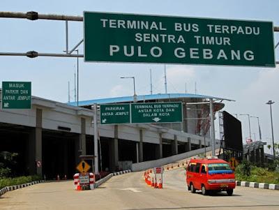 Pemudik Mulai Padati Terminal Pulo Gebang