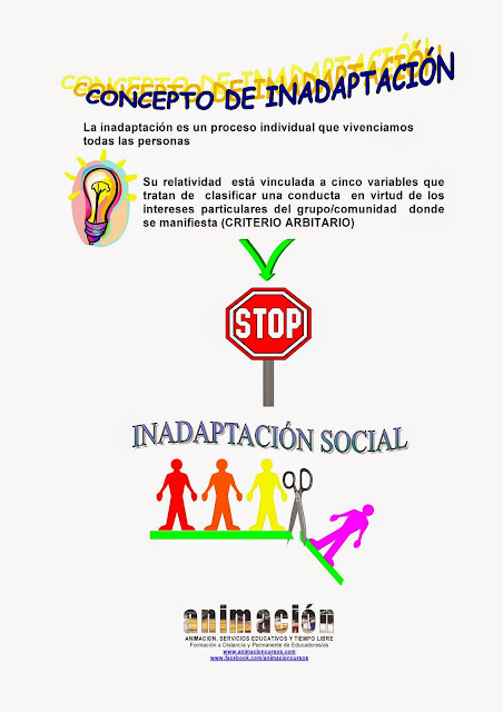 curso marginacion e inadaptacion social