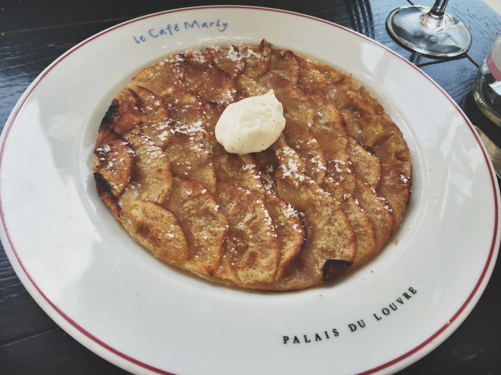 Apple Tart Cafe Marly