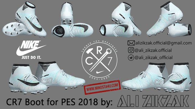 PES 2018 Cr7 Nike Boot Official