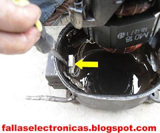 como quitar la conexion electrica de un compresor