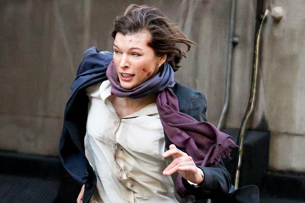 Milla Jovovich on filming the thriller survivor