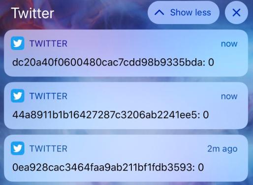 مشكلة في تويتر تتسبب في إرسال إشعارات عشوائية إلى المستخدمين
