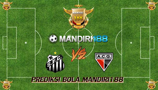 AGEN BOLA - Prediksi Santos vs Atletico Goianiense 23 Oktober 2017