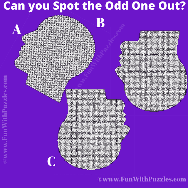 In this visual puzzle, your challenge is find the head image which is different from other two images