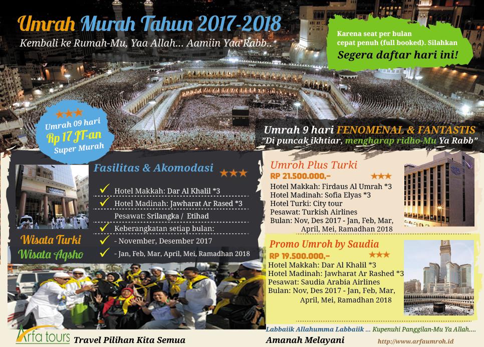 Banner Umrah Promo Arfa Tour