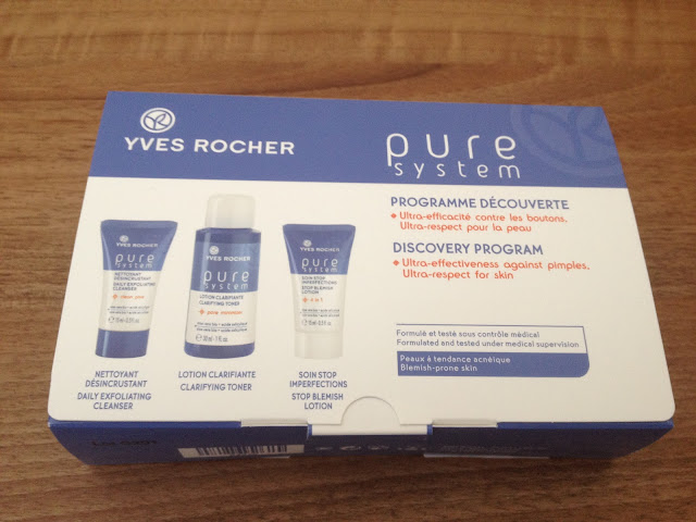 Yves Rocher Pure System Discovery Program