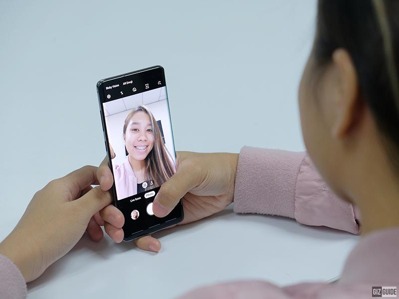 Selfie UI