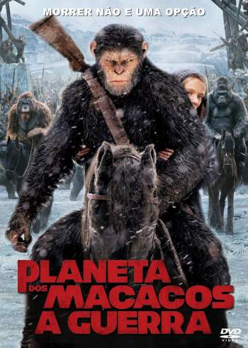 Planeta dos Macacos: A Guerra 3D Torrent – BluRay 1080p Dual Áudio