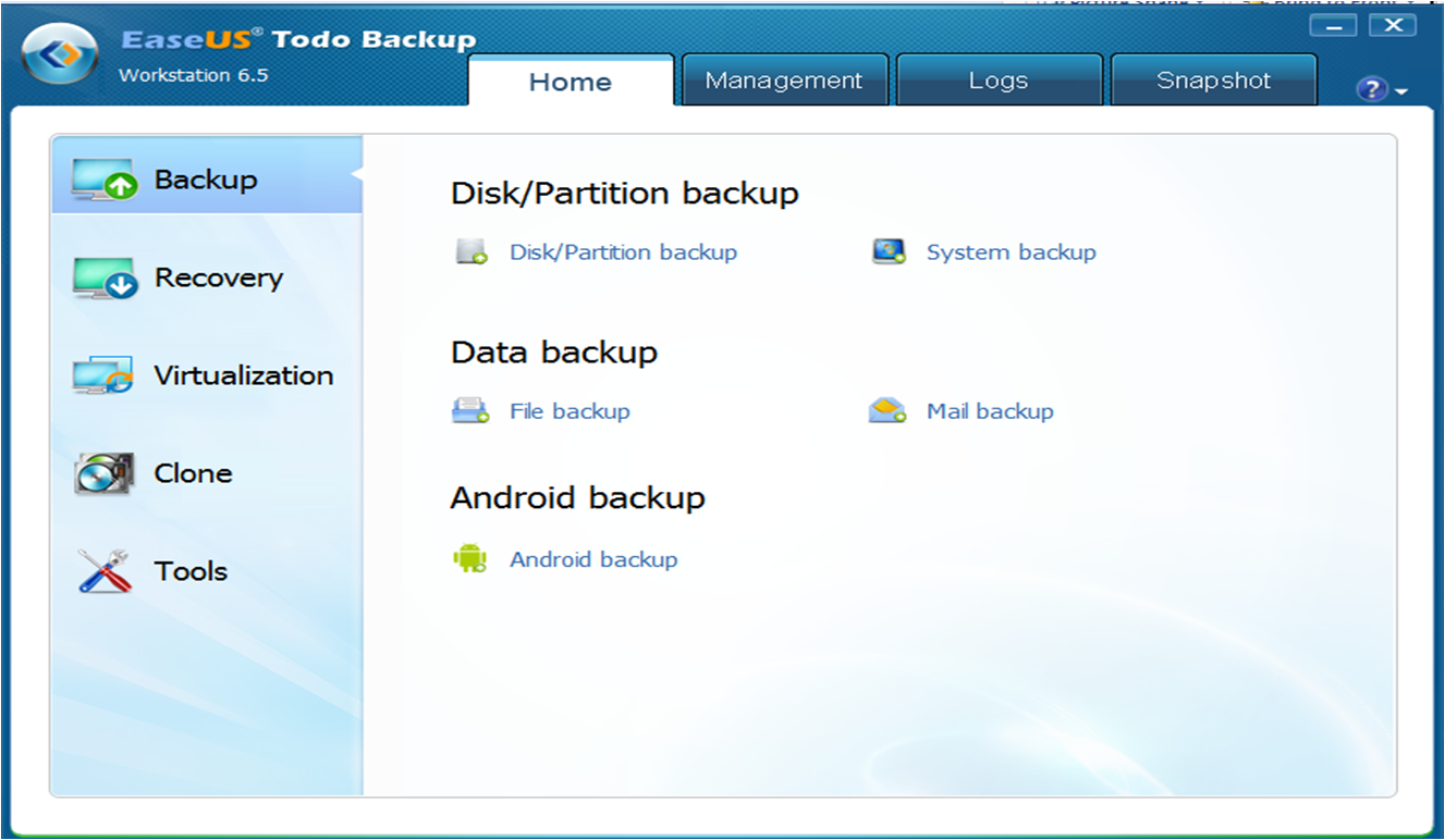 EaseUS Todo Backup Workstation | your backup needs simplified