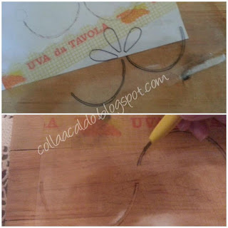 Stencil fai da te tutorial colla a caldo blog