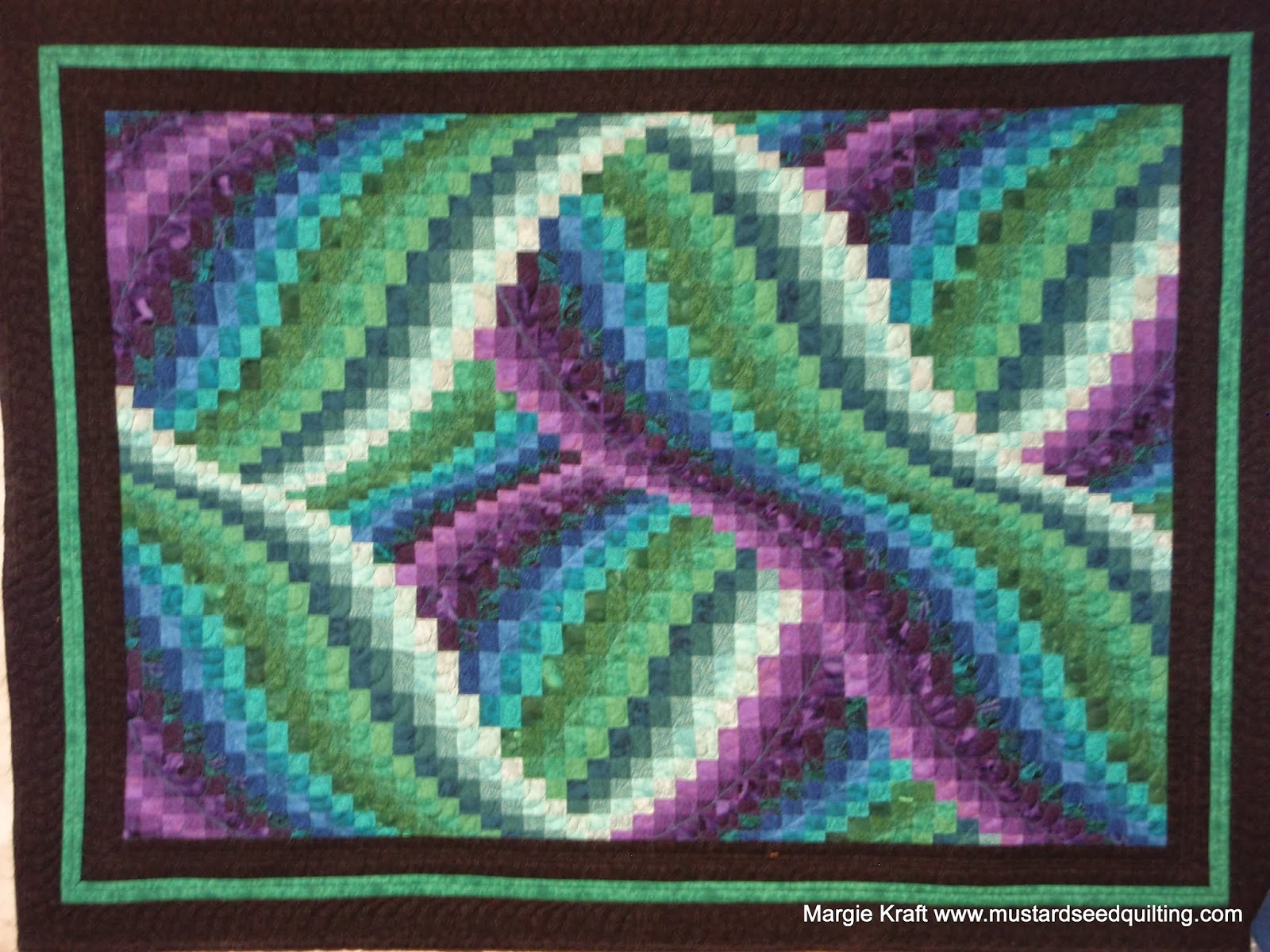 Margie Quilts Dixie S Twisted Bargello