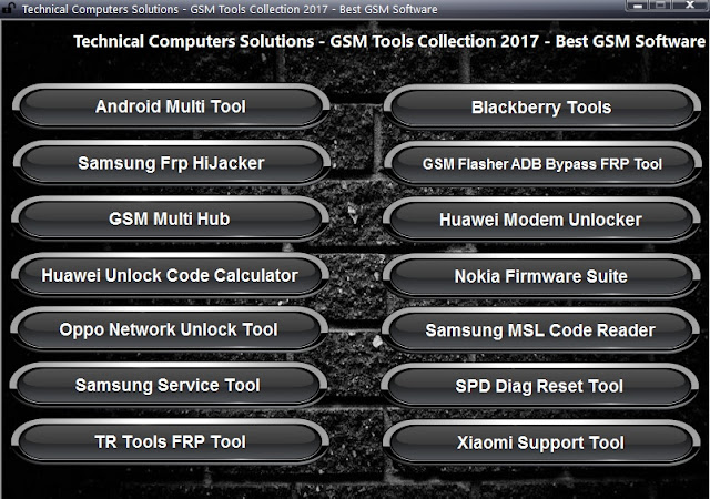 All In One Latest GSM Tool Collection 2017 Free Download