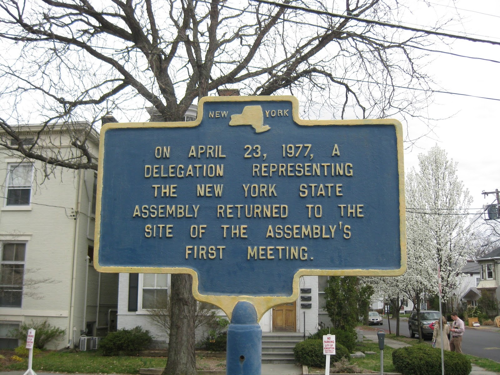 New York State Historical Markers It Happened Here