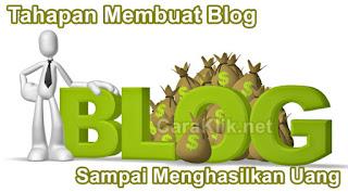 Tahapan Membuat Blog Sampai Menghasilkan Uang Untuk Pemula