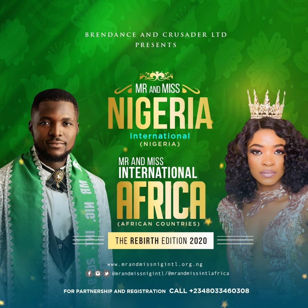 Mr and Miss Nigeria International
