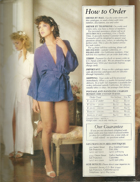 1982 Victoria S Secret Catalog Vintage Everyday