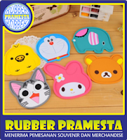 BUAT RUBBER COASTER | BIKIN RUBBER COASTER