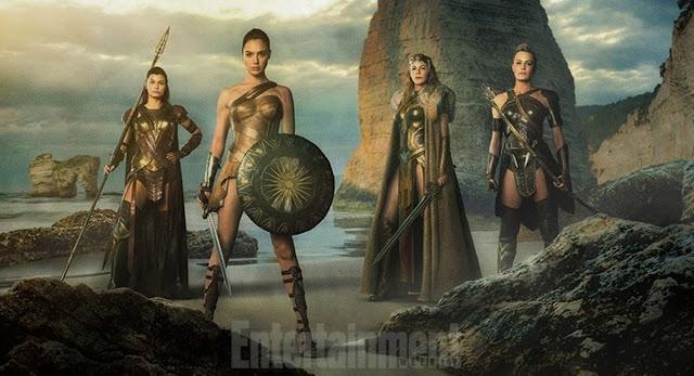 Imagen de 'Wonder Woman' publicada por EW