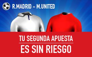 sportium apuesta sin riesgo Supercopa de Europa Real Madrid vs United 8 agosto