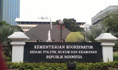 Alamat Kementerian Koordinator Bidang Politik, Hukum, dan Keamanan Republik Indonesia