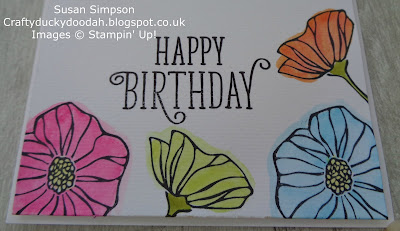 Stampin' Up! UK Independent  Demonstrator Susan Simpson, Craftyduckydoodah!, Oh So Eclectic, June 2017 Coffee & Cards Project, Supplies available 24/7 from my online store,