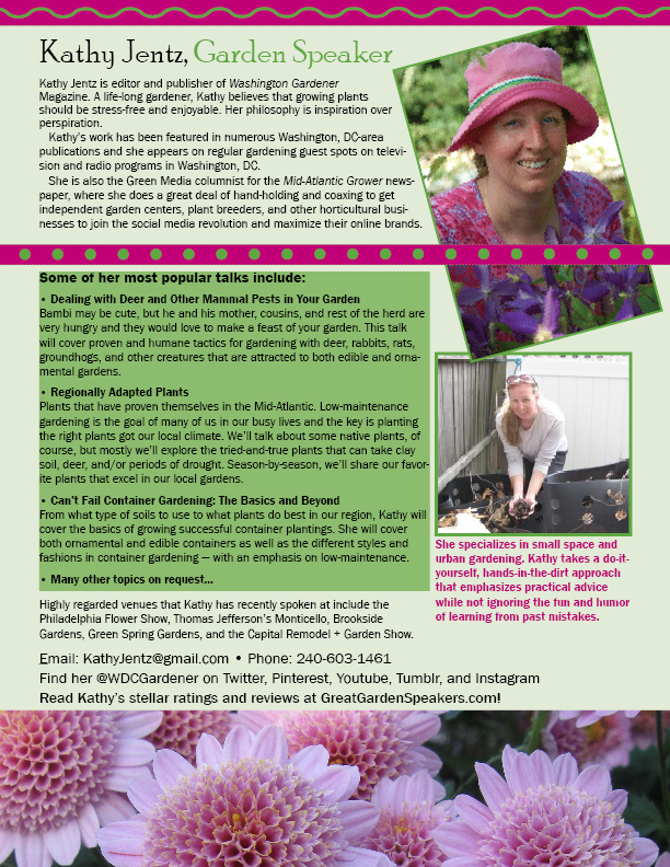 As A Garden Club President Myself, I Know How Hard It Can Be To Find A  Speaker Who Is Knowledgeable About Local Gardening And Who Can Present That  Knowledge ...