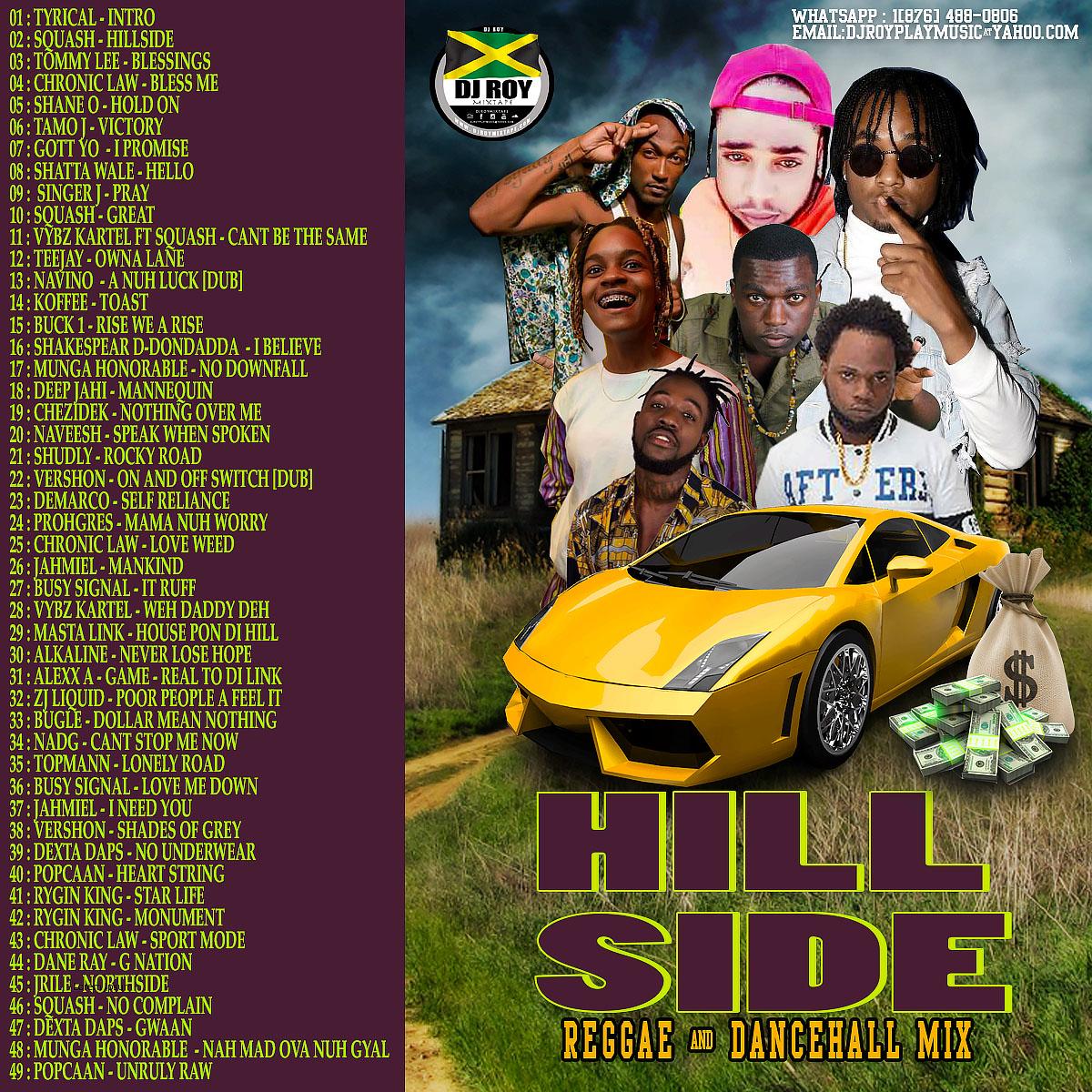 DJROYMIXTAPE : DJ ROY HILLSIDE REGGAE & DANCEHALL MIX 2019