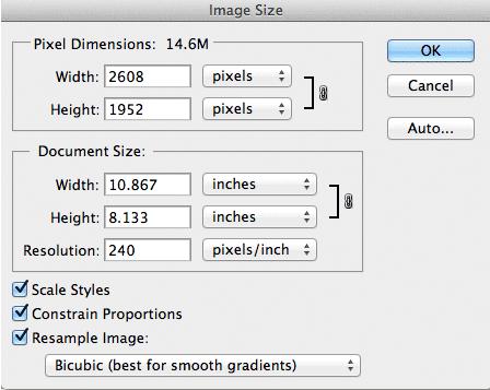 Tips dan Cara Merubah Ukuran Foto di Photoshop