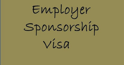 Employer Sponsorship Visa