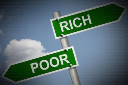 Orang Kaya versus Orang Miskin