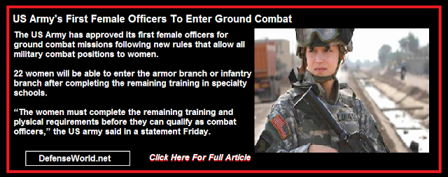 Army's first female officers to enter ground combat